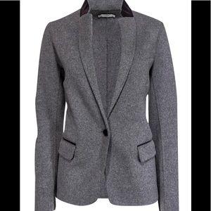 Vince Grey Wool Blazer